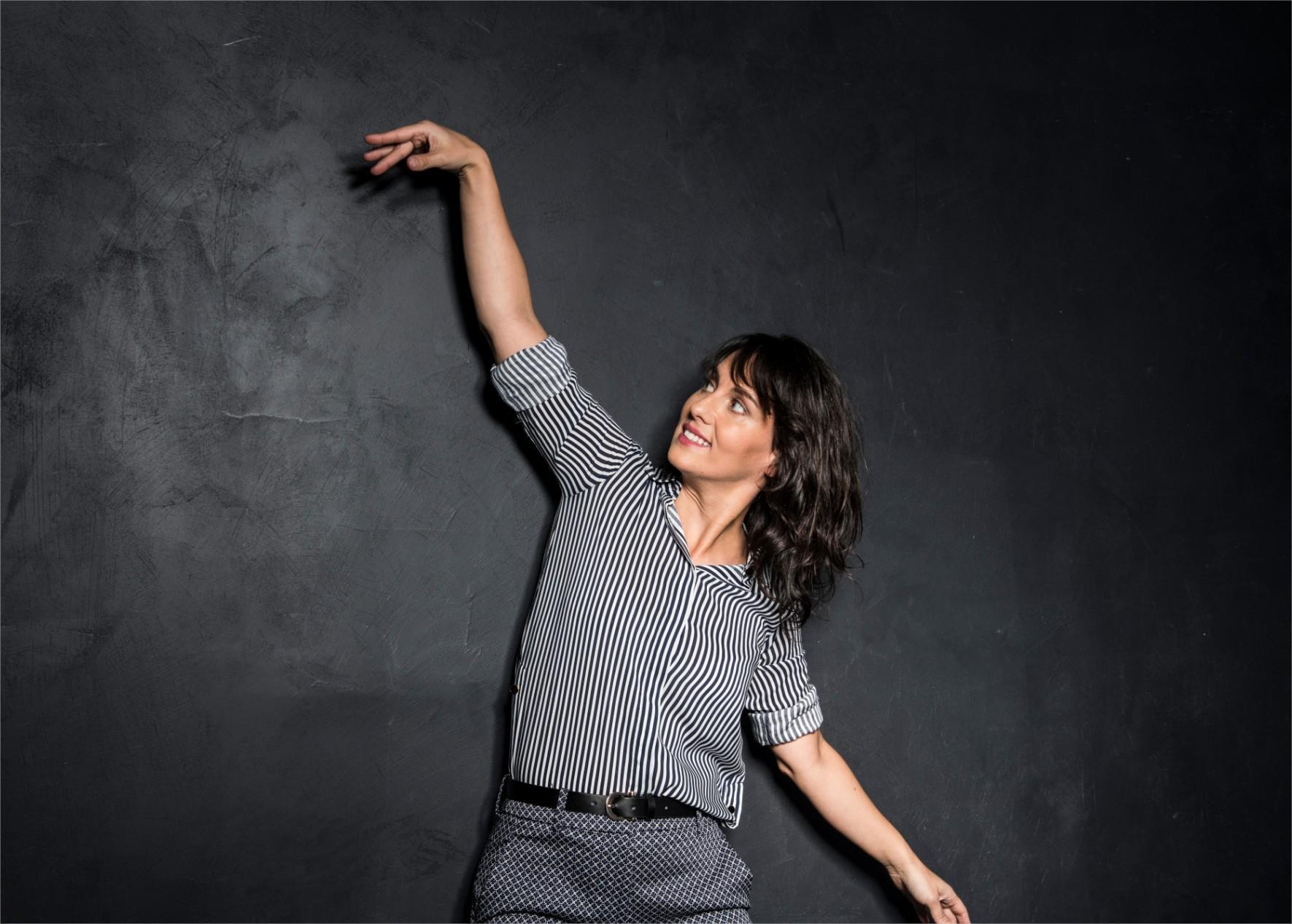 Olivia Moore au JT de FRANCE 2